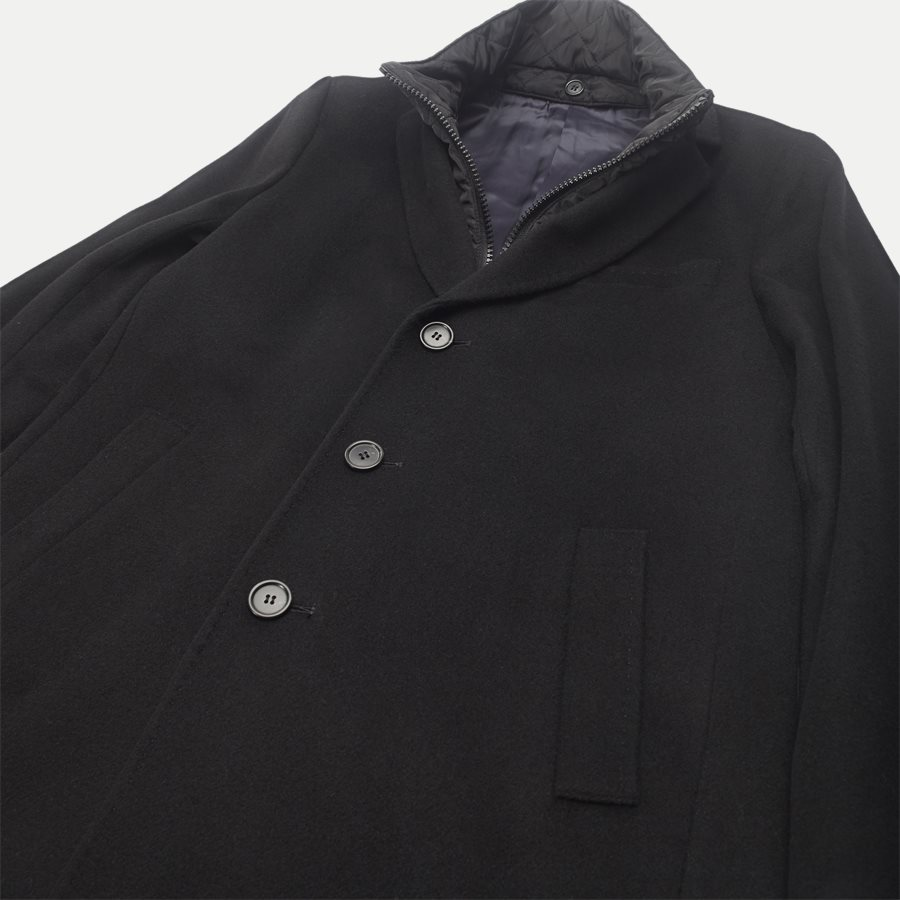 CASHMERE COAT SULTAN TECH - Cashmere Sultan Tech Coat - Jakker - Modern fit - SORT - 5