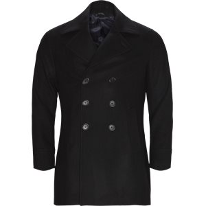 Sail DB Double-Breasted Jacket Slim | Sail DB Double-Breasted Jacket | Sort