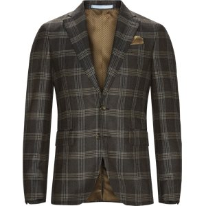 Check Star Napoli/Check Sherman Blazer Check Star Napoli/Check Sherman Blazer | Brun