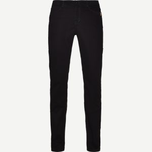 Suede Touch Burton Jeans Regular | Suede Touch Burton Jeans | Sort