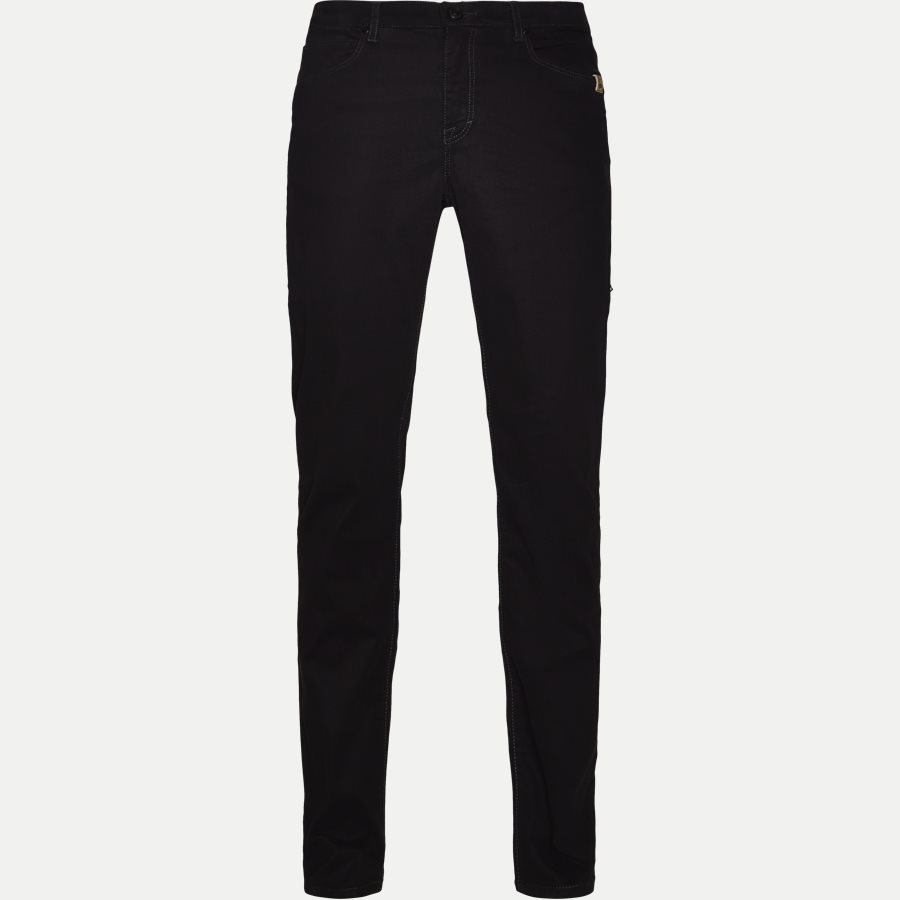 SUEDE TOUCH BURTON N, - Suede Touch Burton Jeans - Jeans - Regular - SORT - 1