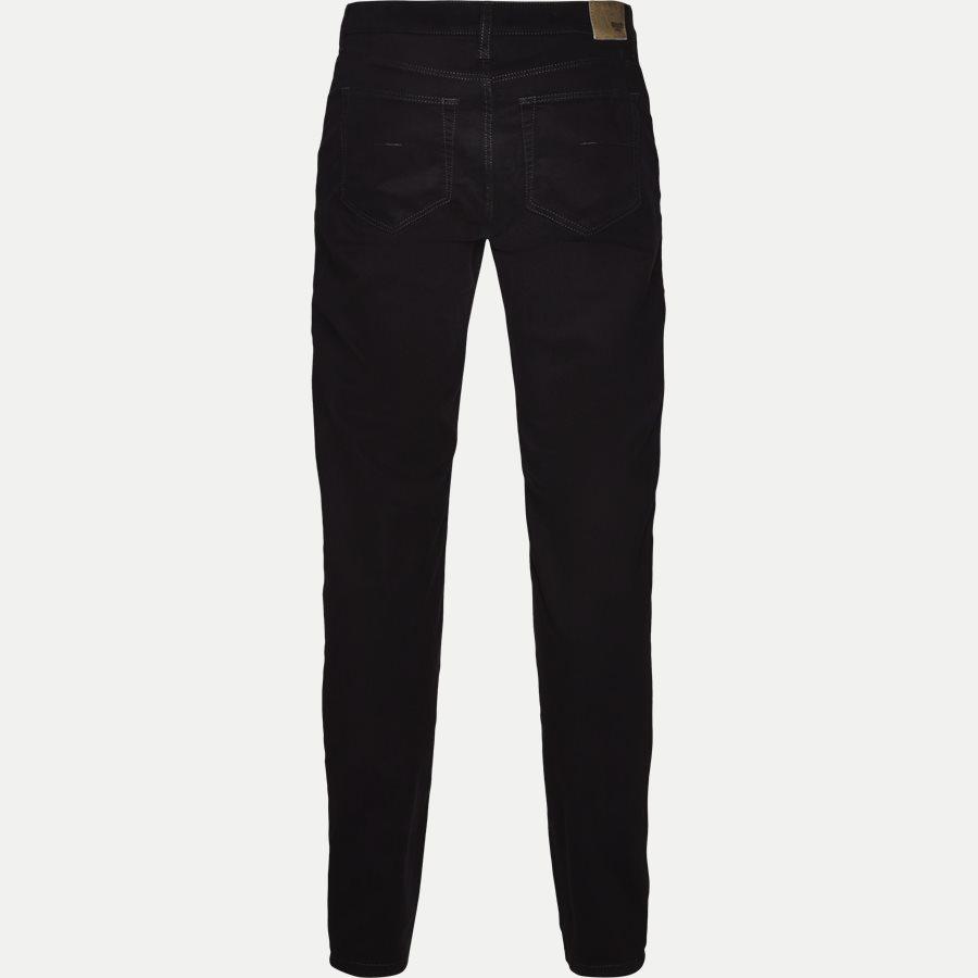 SUEDE TOUCH BURTON N, - Suede Touch Burton Jeans - Jeans - Regular - SORT - 2