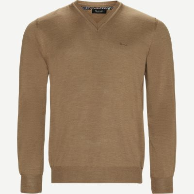 Merino Dustin Strik Regular | Merino Dustin Strik | Brun