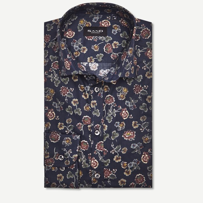 8011 Iver/State Skjorte - Skjorter - Blå