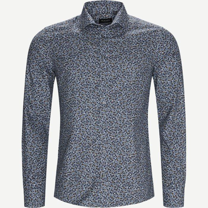 8012 Iver/State Skjorte - Skjorter - Blå