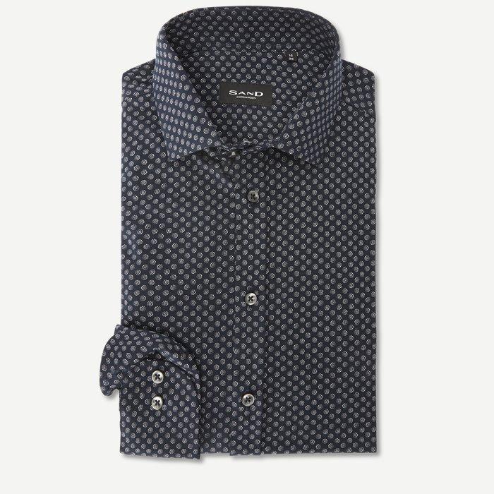 8069 Iver/State Skjorte - Skjorter - Blå