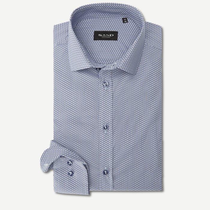 8072 Iver/State Skjorte - Skjorter - Blå