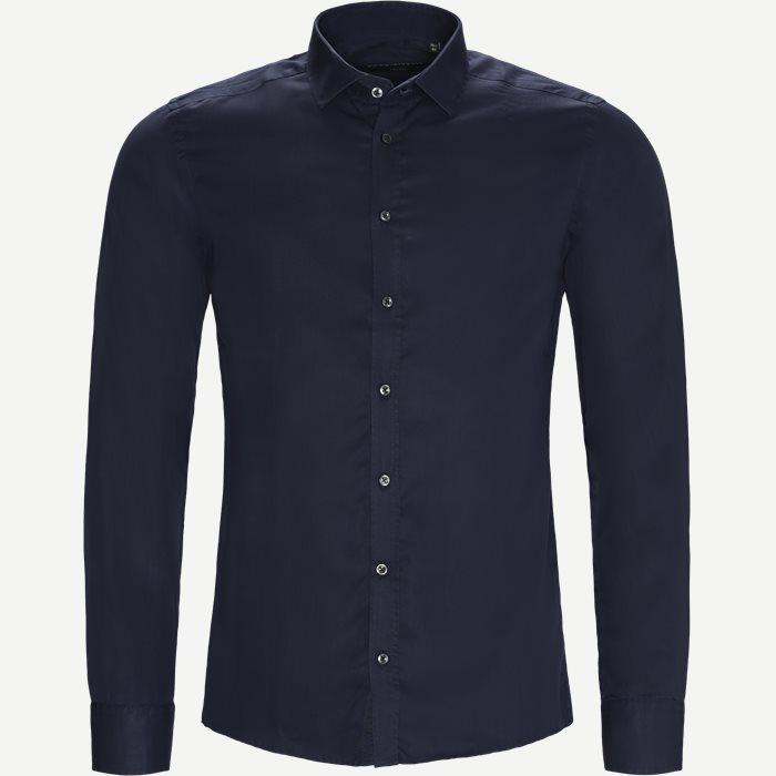 Tencel Iver/State Skjorte - Skjorter - Blå