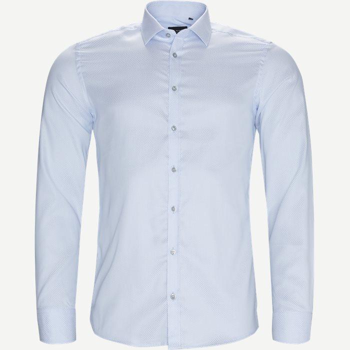 8071 Iver/State Skjorte - Skjorter - Blå