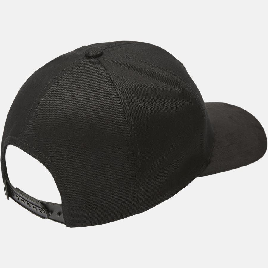 CLASSIC BASEBALLE CAP SUEDE - Huer - BLACK - 2