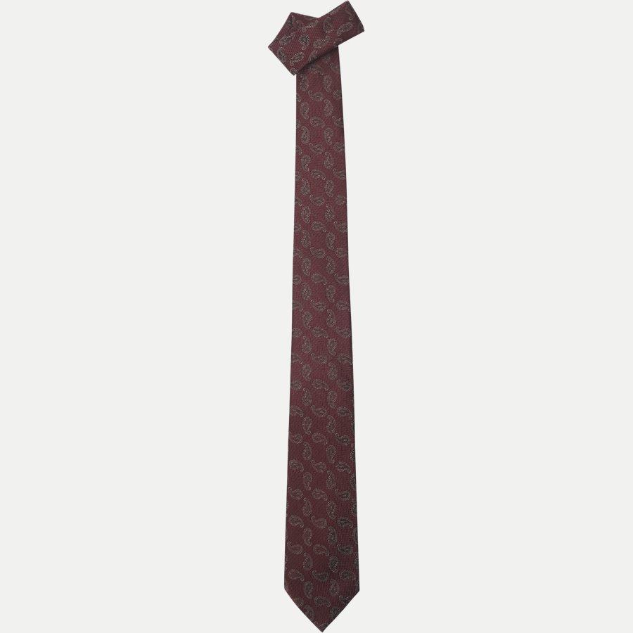 K2004 - Krawatten - BORDEAUX - 1