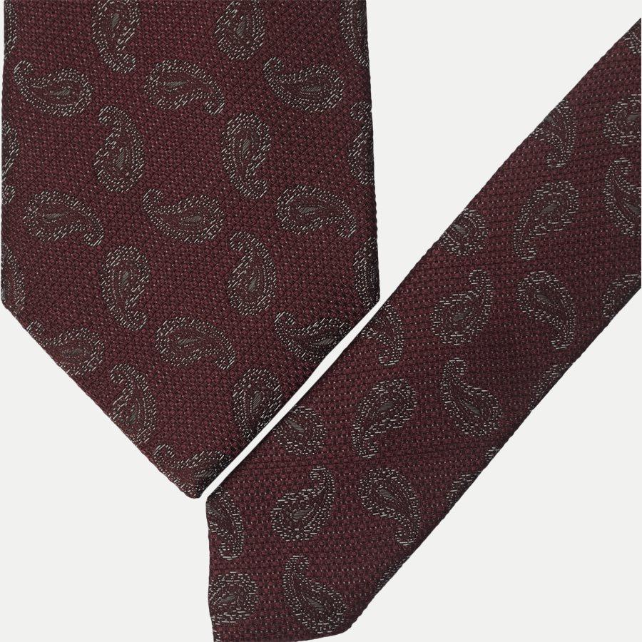 K2004 - Krawatten - BORDEAUX - 2