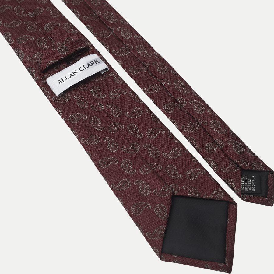 K2004 - Krawatten - BORDEAUX - 3