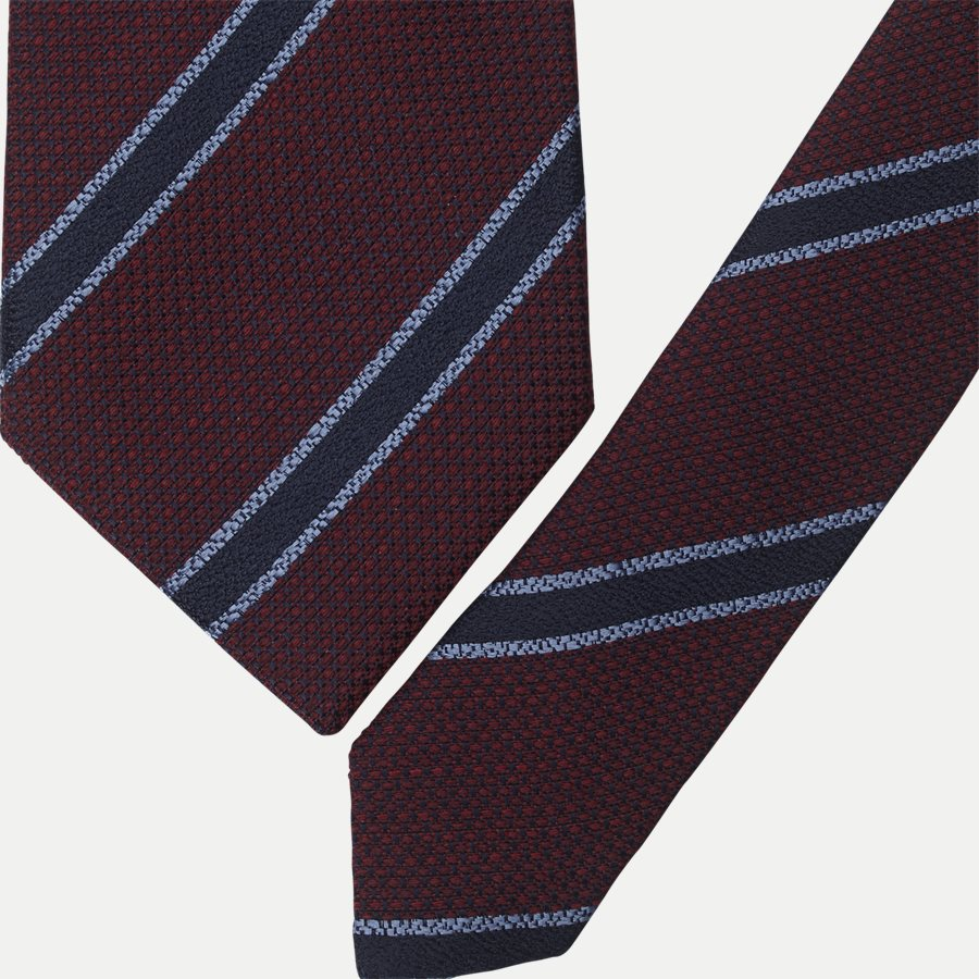 K1984 - Krawatten - BORDEAUX - 2