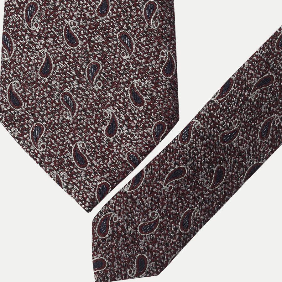 K1976 - Krawatten - BORDEAUX - 2