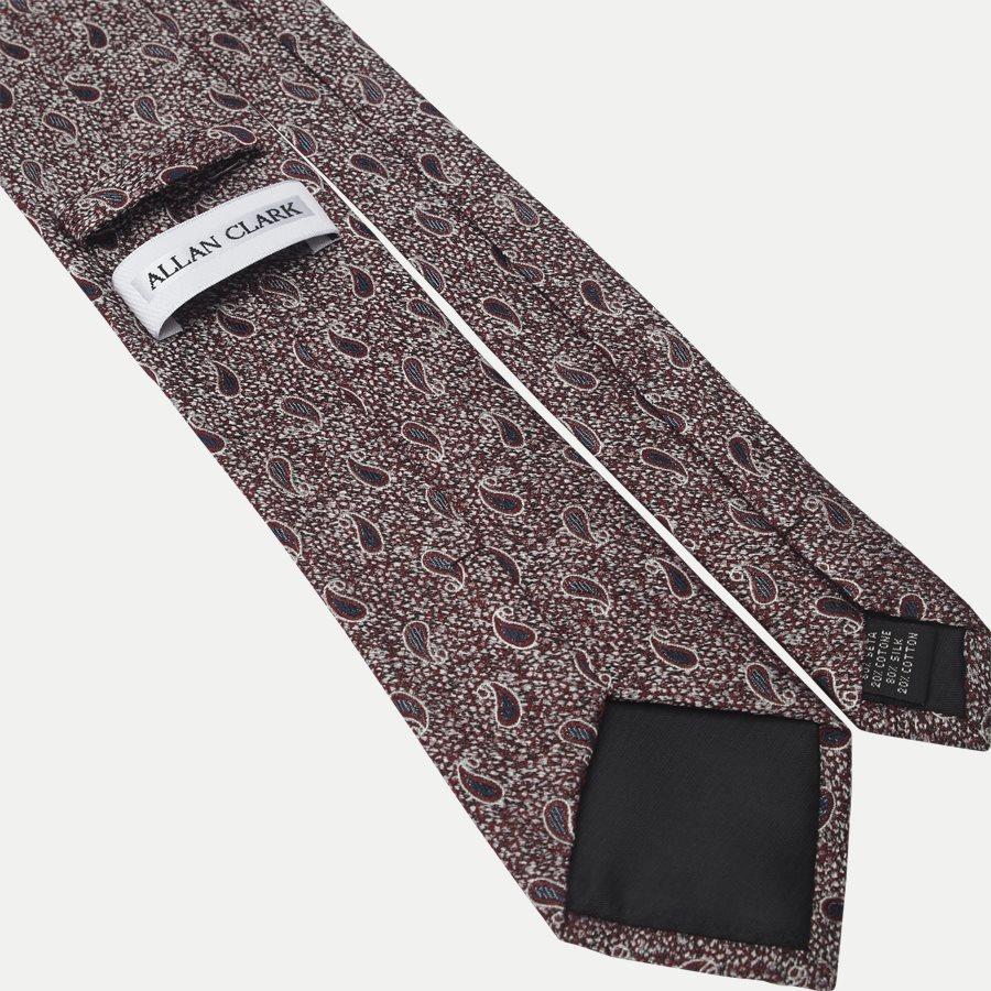 K1976 - Krawatten - BORDEAUX - 3