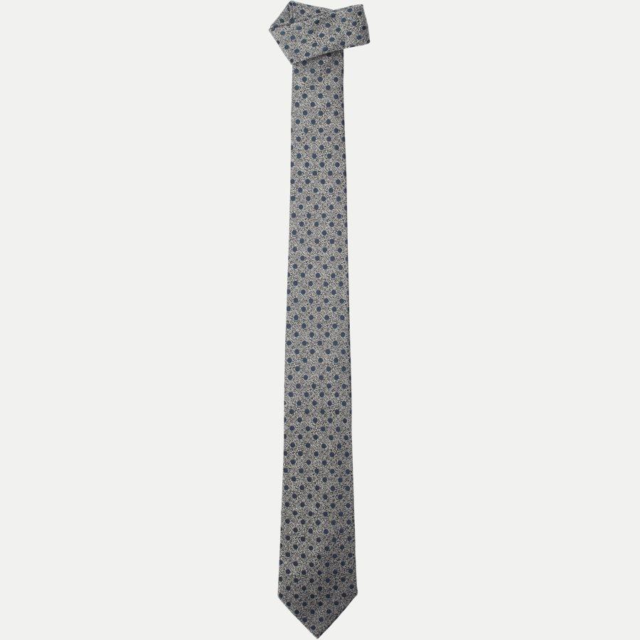 K1979 - Krawatten - GREY - 1