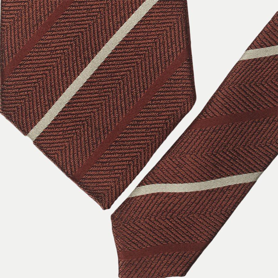 DES#288 - Krawatten - ORANGE - 2