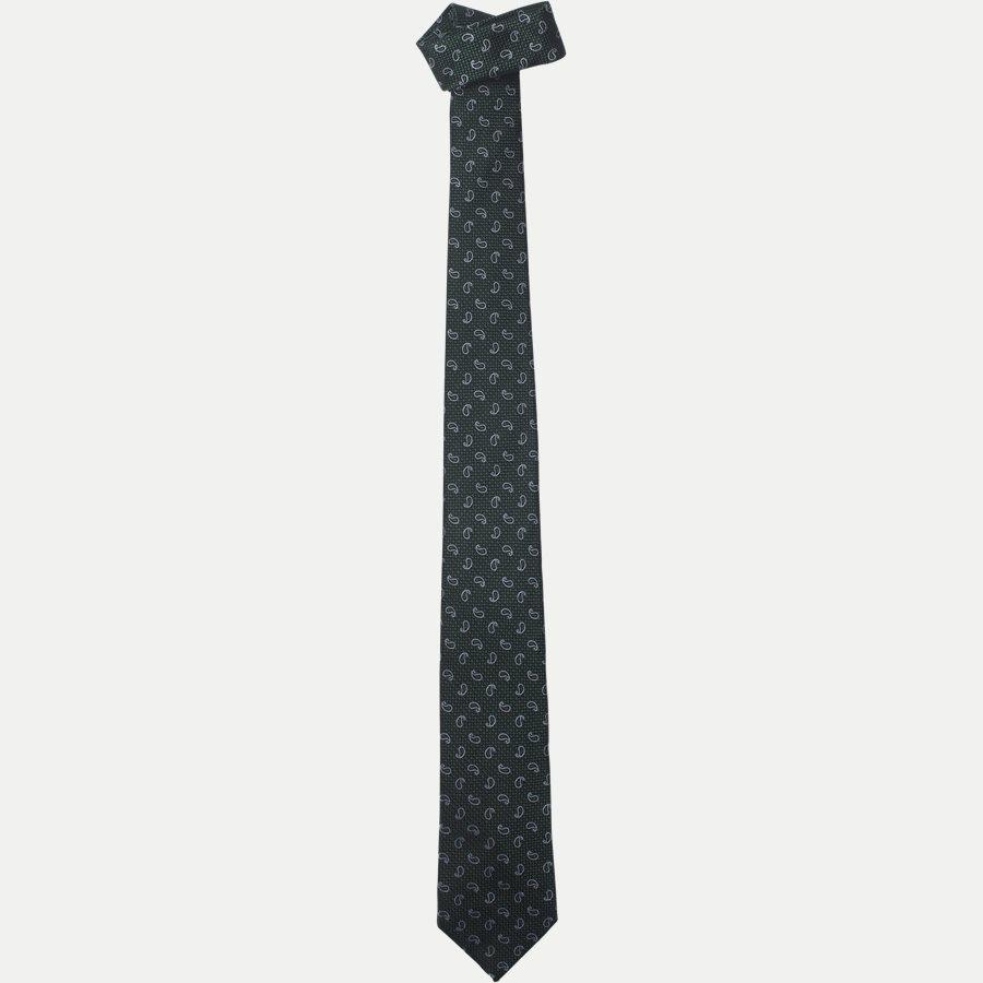 DES#K1049 - Krawatten - GREEN - 1