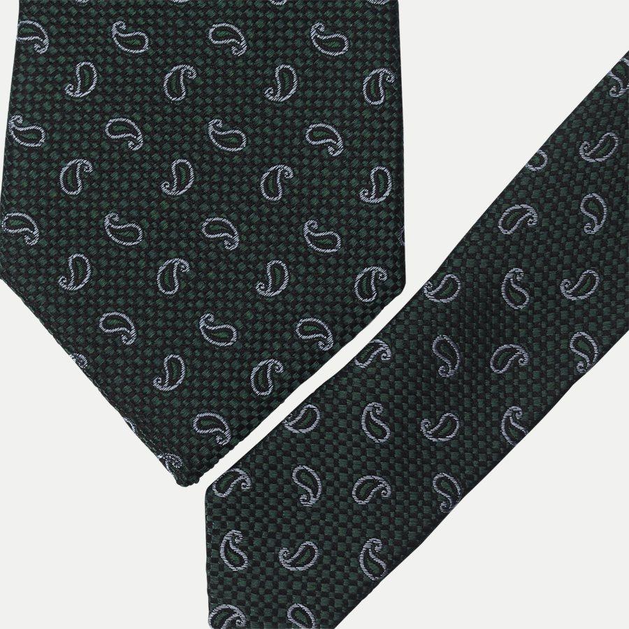 DES#K1049 - Krawatten - GREEN - 2