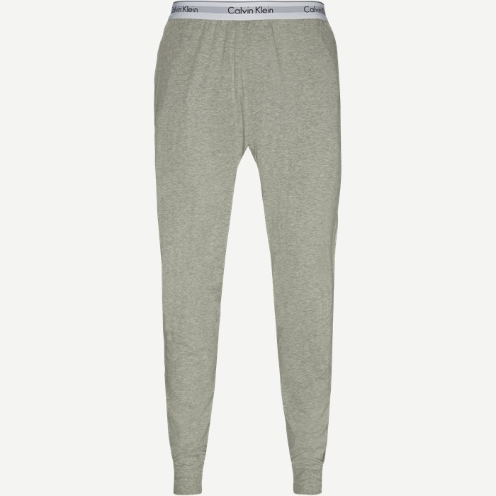 Jogger Pyjamasbukser - Bukser - Regular - Grå