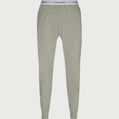 Jogger Pyjamasbukser Regular | Jogger Pyjamasbukser | Grå