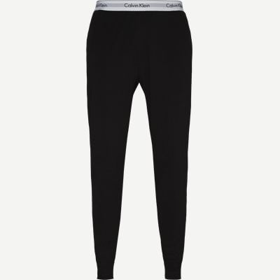 Jogger Pyjamasbukser Regular | Jogger Pyjamasbukser | Sort
