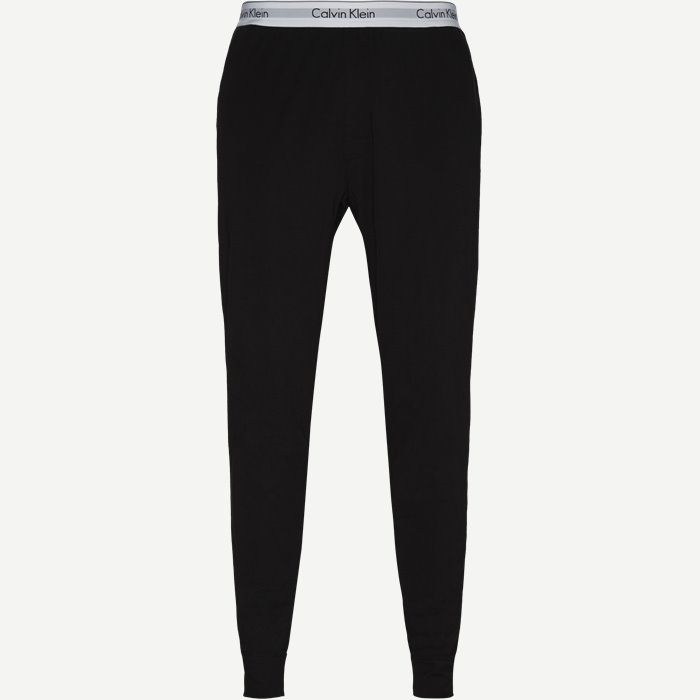 Jogger Pyjamasbukser - Bukser - Regular - Sort