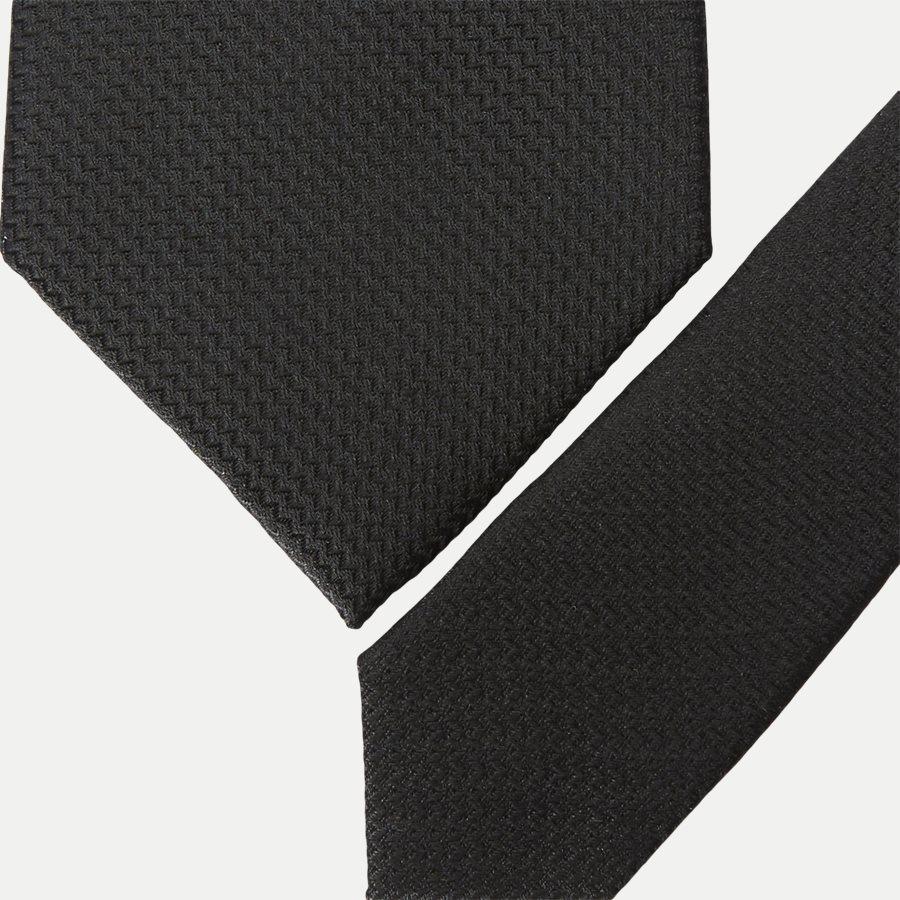 S544 - Krawatten - BLACK - 2