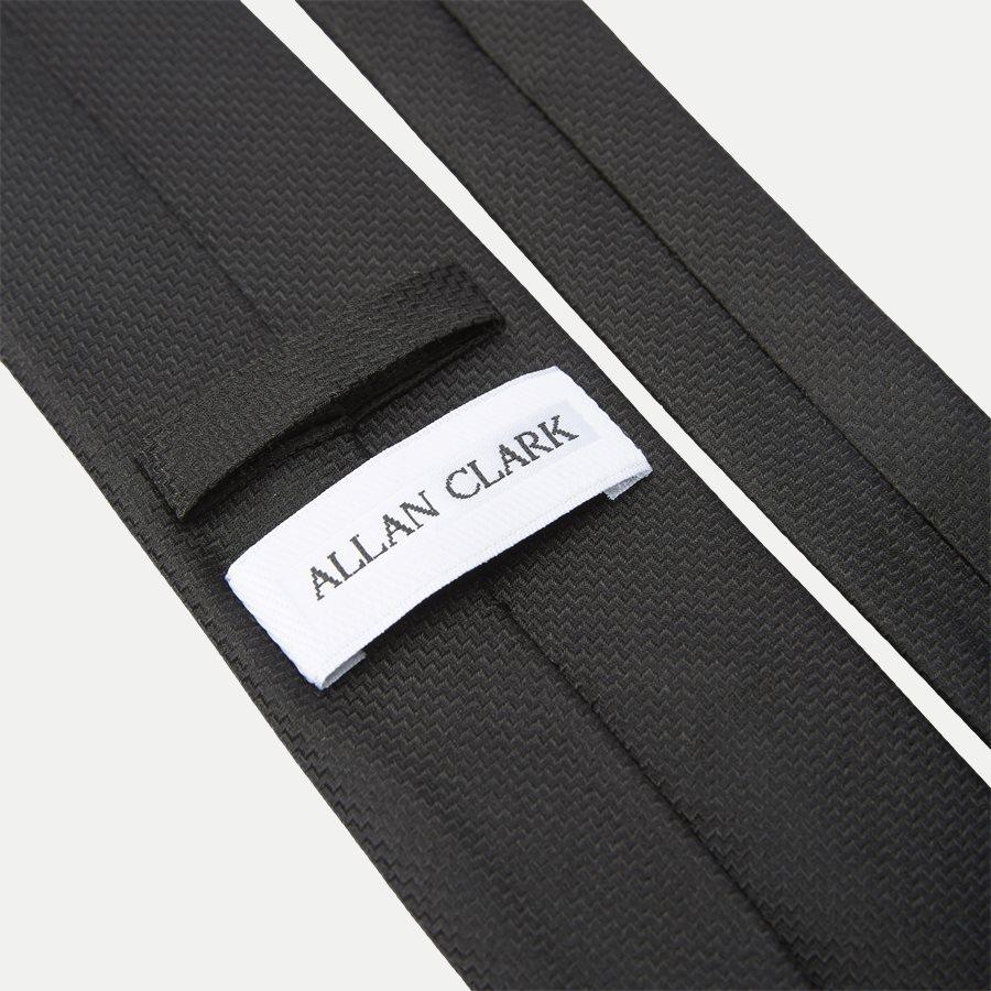 S544 - Krawatten - BLACK - 3