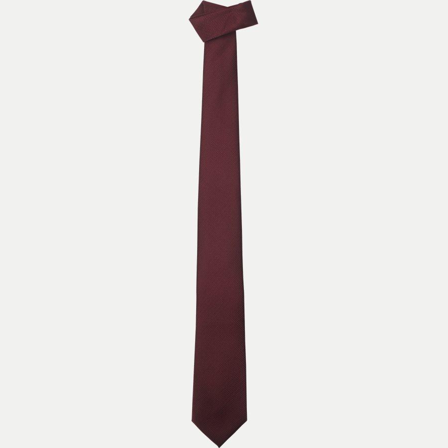 S544 - Krawatten - WINE - 1