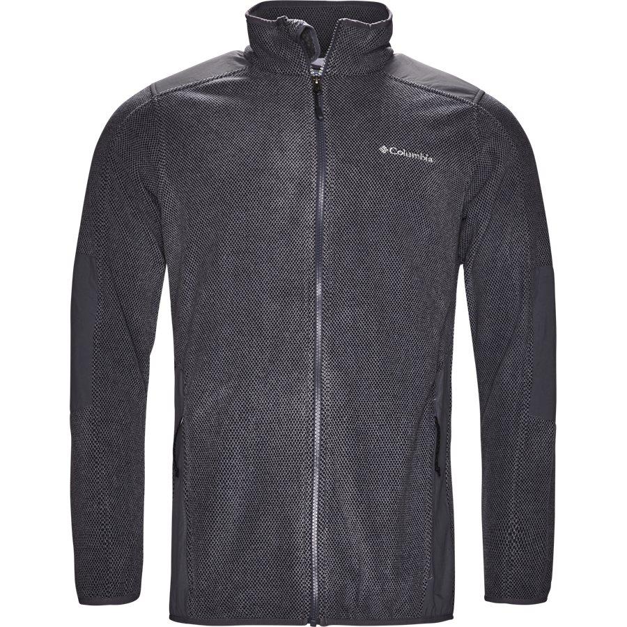 EM 0017 - EM 0017 Track Top - Sweatshirts - Regular - GRÅ - 1