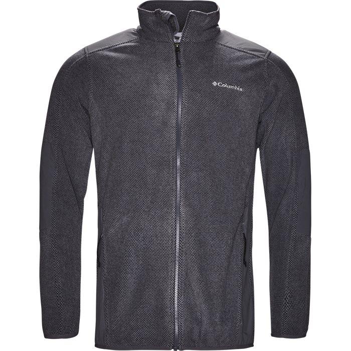 EM 0017 Track Top - Sweatshirts - Regular - Grå