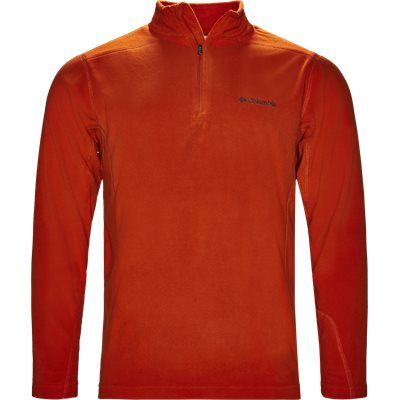 Em 6503 Half Zip Fleece Regular | Em 6503 Half Zip Fleece | Orange
