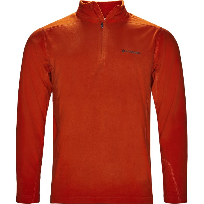 Em 6503 Half Zip Fleece - Sweatshirts - Regular - Orange