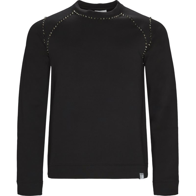 Versace sweat black fra versace på axel.dk