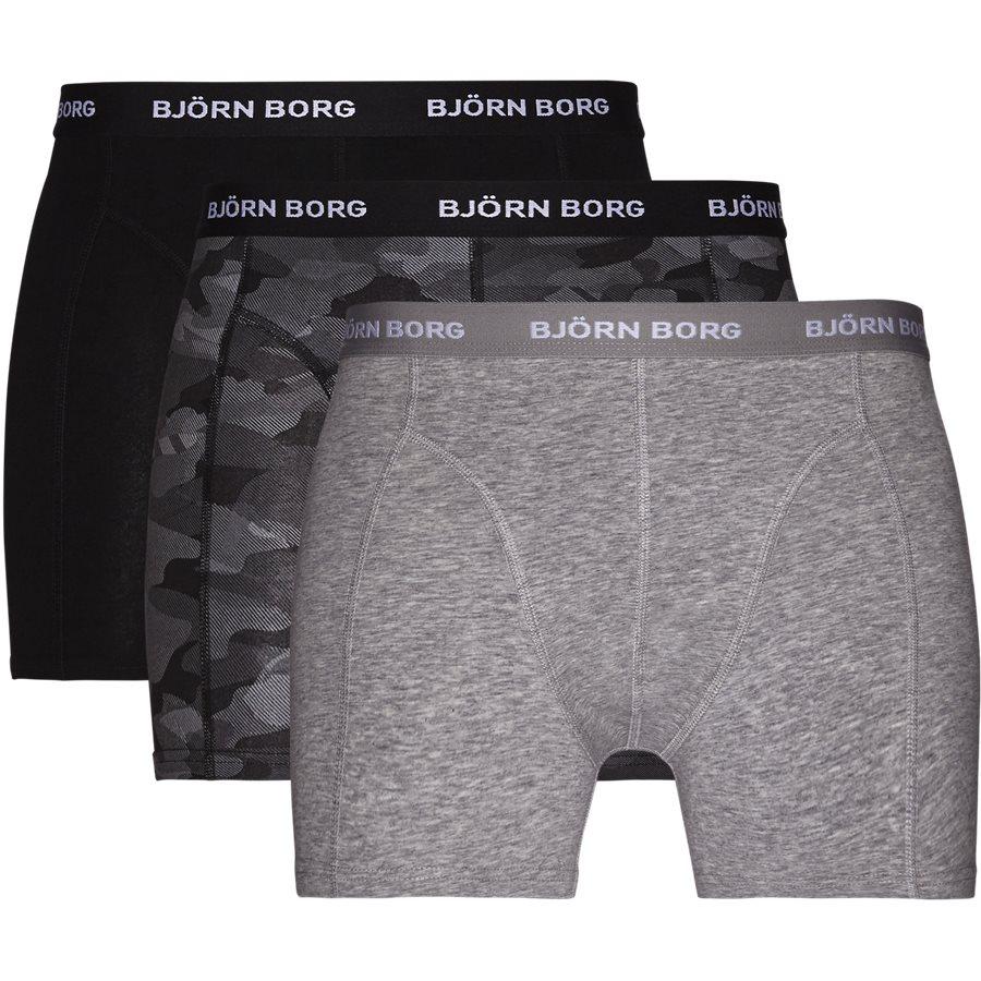 44d89a75223 9999-1132 90651 Underwear GRÅ/CAMO/SORT from Björn Borg 54 EUR