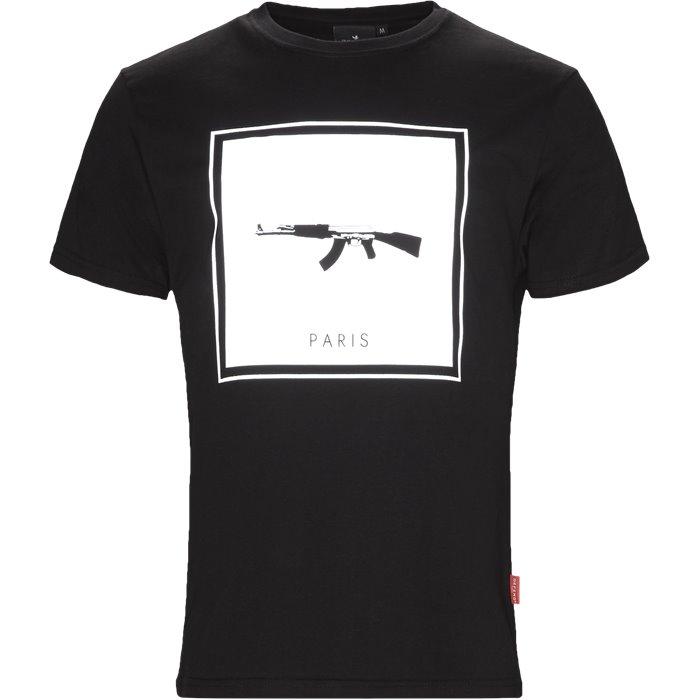 Tyga - T-shirts - Regular - Sort