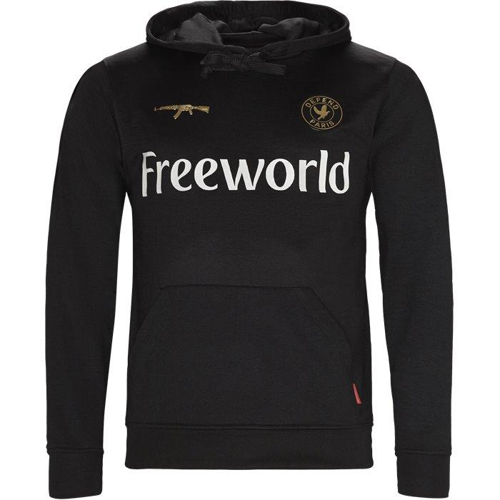 Thug Sweatshirt - Sweatshirts - Regular - Sort