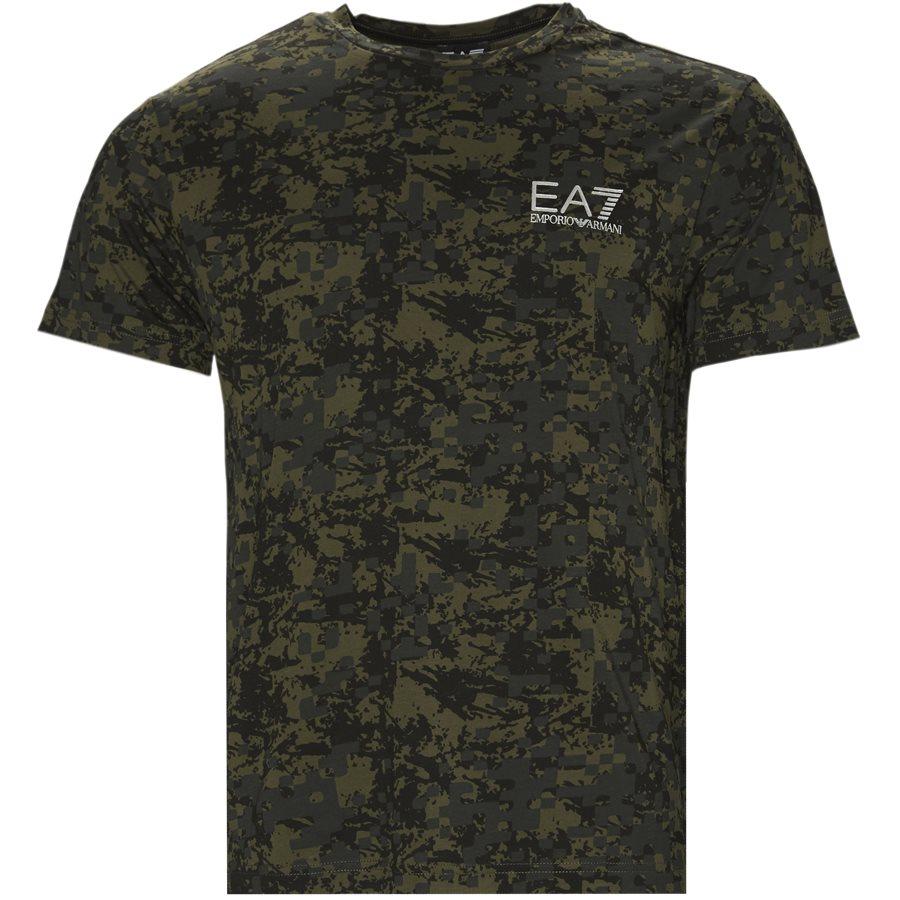 PJN0Z-6ZPT37 - PJN0Z-6ZPT37 - T-shirts - Regular - GRØN - 1
