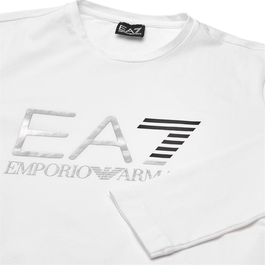 PJ20Z-6ZPT22 - PJ20Z-6ZPT22 langærmet t-shirt - T-shirts - Regular slim fit - HVID - 3