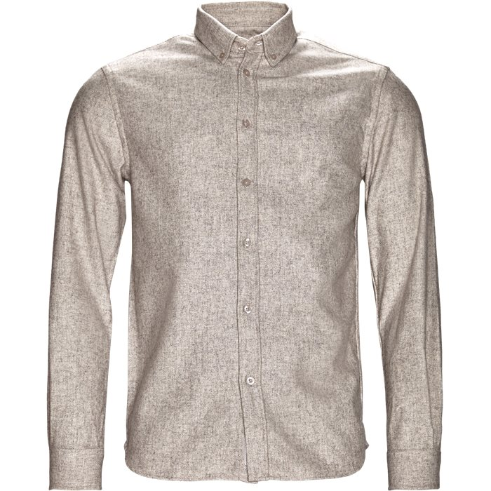 Skjortor - Regular - Sand