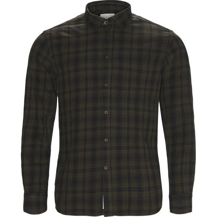 Walther - Skjorter - Regular - Grøn