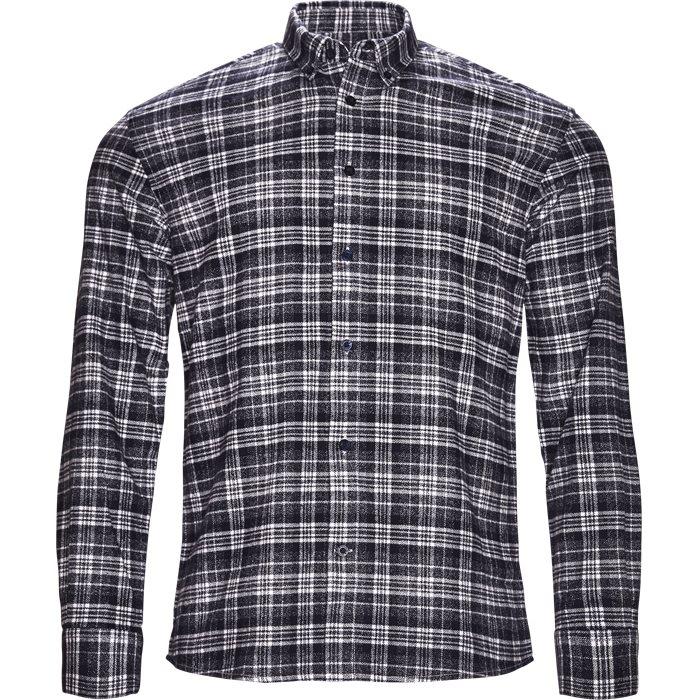 Walther - Skjorter - Regular - Blå