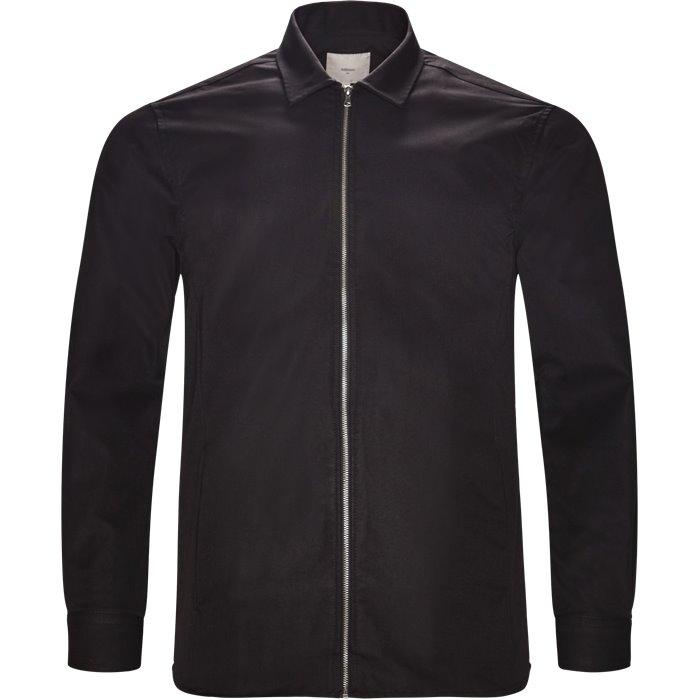 Aston - Skjorter - Regular - Sort