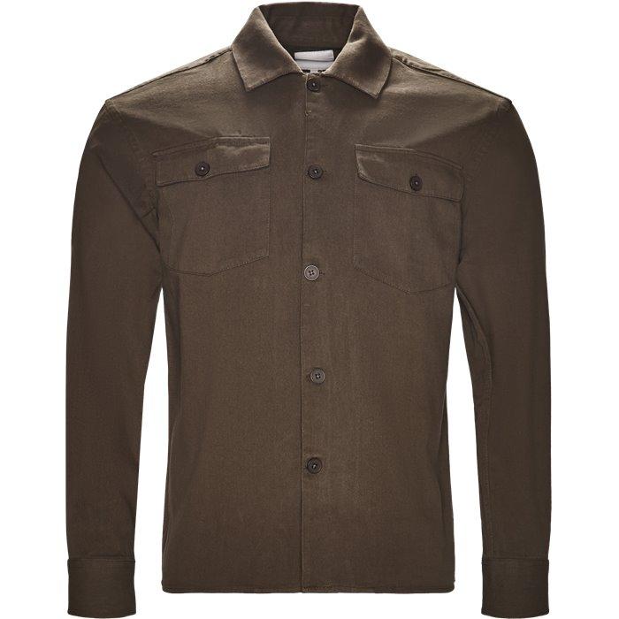 Skjortor - Regular - Grön