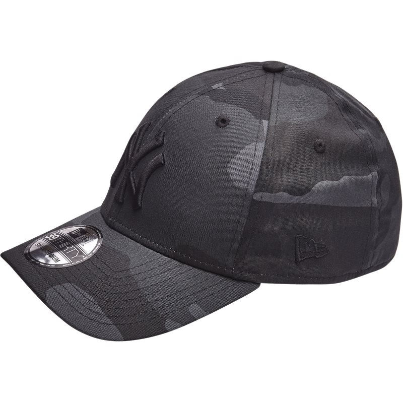 New Era 3930 Ny Sort/camo