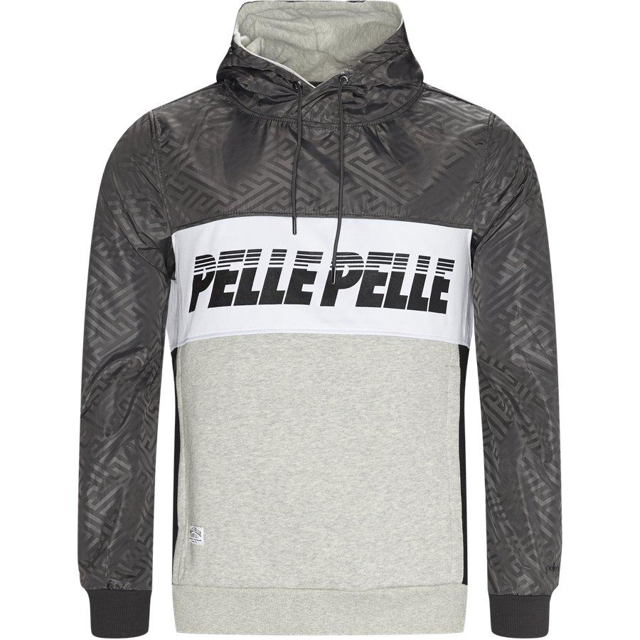 PM 2579 1803 007 - PM 2579 Sweatshirt - Sweatshirts - Regular - SORT - 1