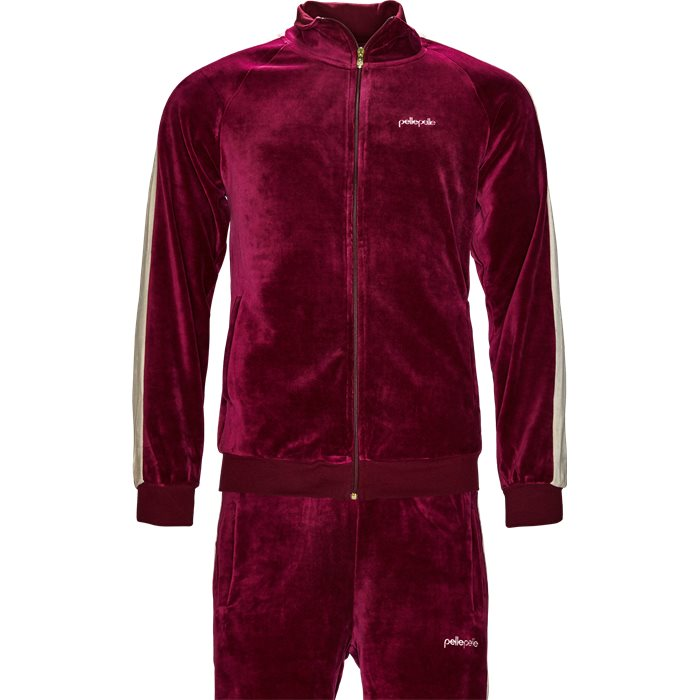 PM 6010 Tracksuit - Sweatshirts - Regular - Bordeaux