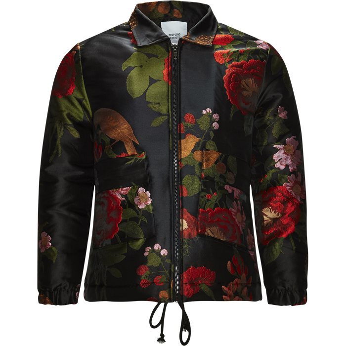 Floral - Jakker - Regular fit - Sort